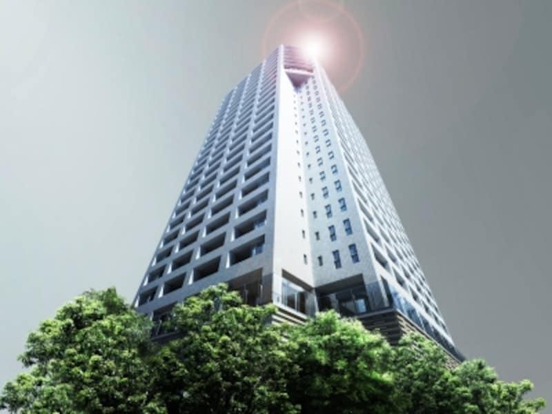 「ル・サンク大崎ウィズタワー」外観完成予想図undefined※計画段階の図面を基に描き起こしたもので実際とは異なります