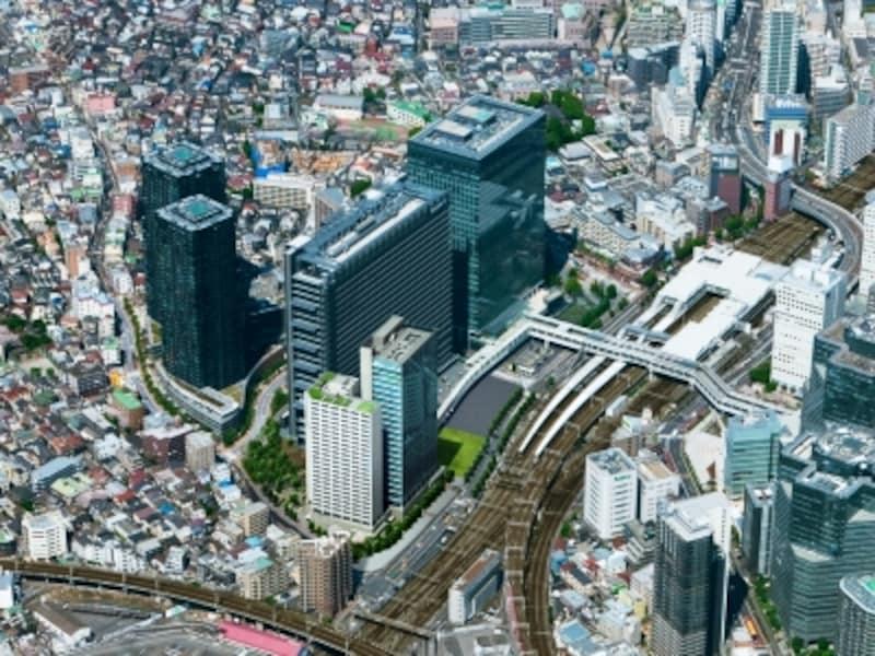 「ル・サンク大崎ウィズタワー」周辺の航空写真undefined※写真は大崎周辺を撮影(2011年2月)したものにCG加工を施したものです
