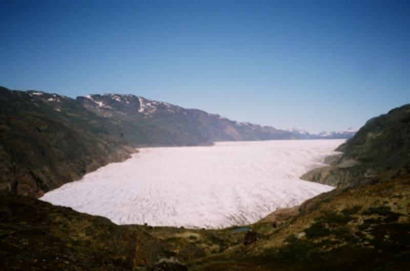 雄大なナルサルスアーク氷河がついに眼前に!