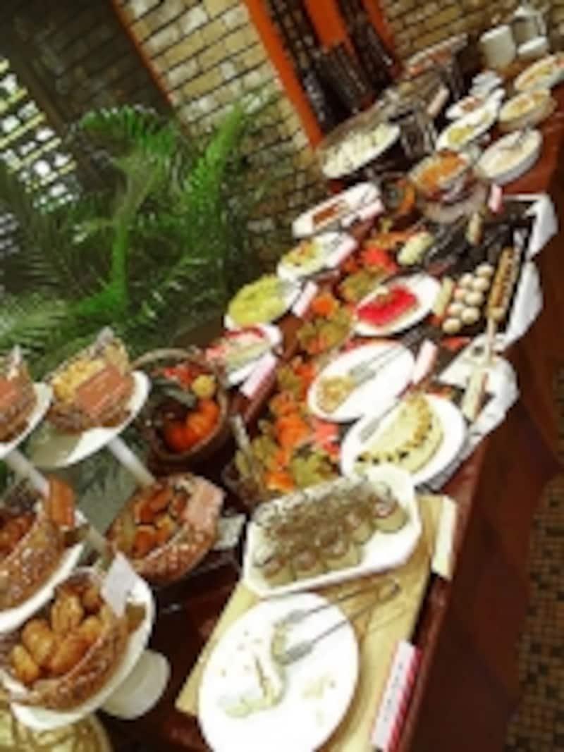 ムフタールドゥパリ料理台
