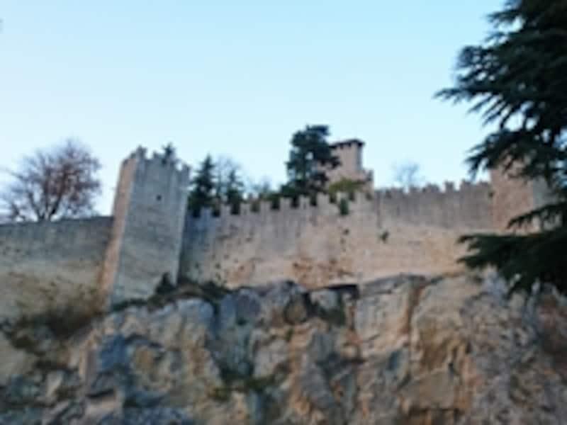 サンマリノの城壁