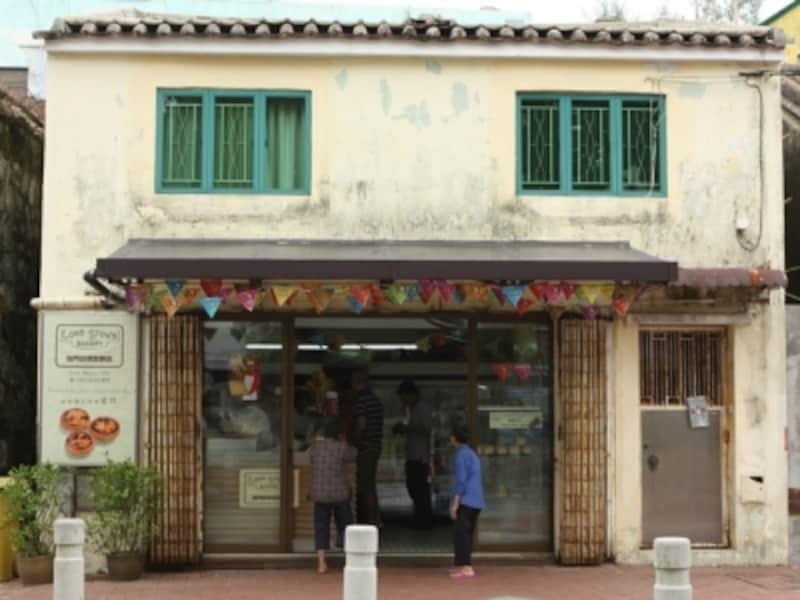 マカオのエッグタルト発祥の店、ロード・ストウズ・ベーカリー本店(c)MiyukiKume
