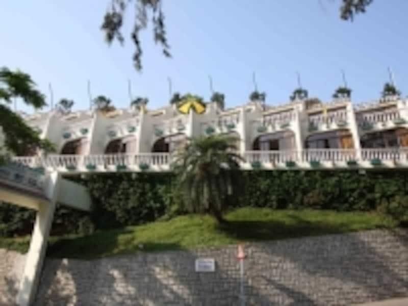 こぢんまりとしたホテル、ポウサダ・デ・コロアン(c)MiyukiKume