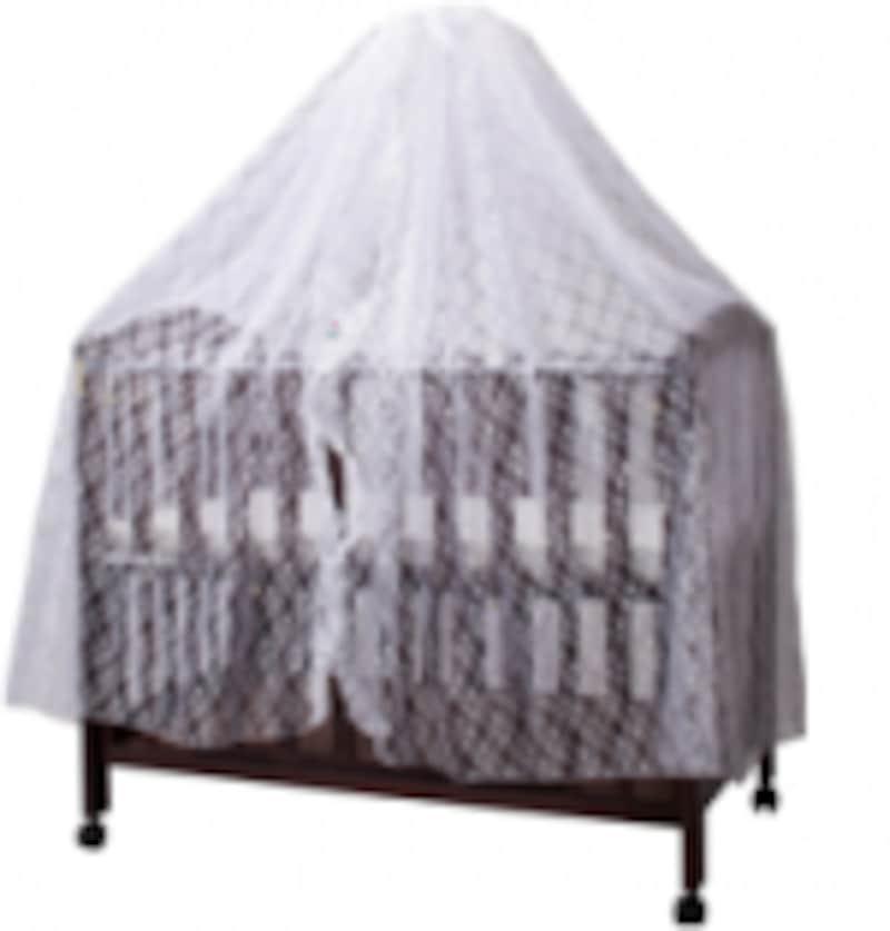 ベビーベッドカーテン