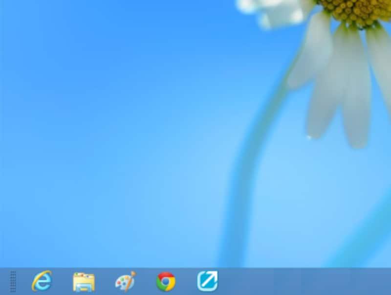 Windows8のデスクトップ
