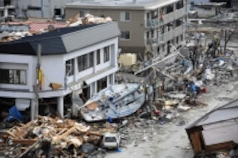 東日本大震災の被害写真