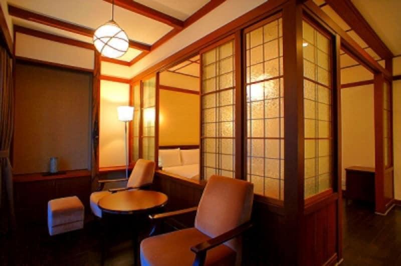 万平ホテルの客室