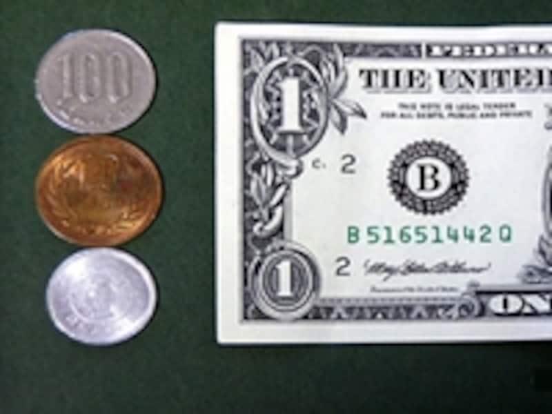 一番多い、円からドルへの両替