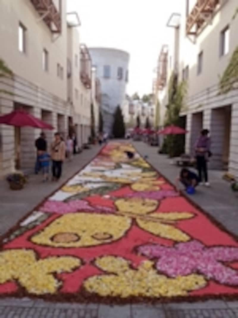 GWの恒例イベント「花の回廊」
