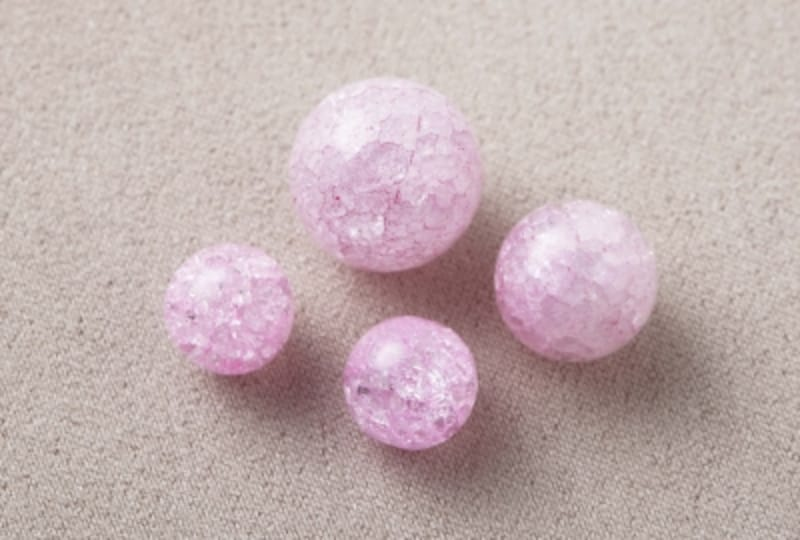 クラック水晶(ピンク)