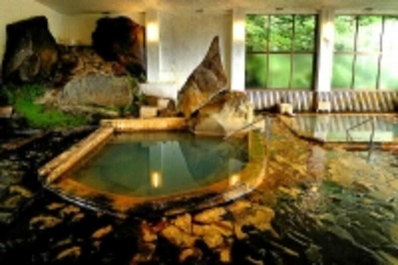 旭岳温泉湯元湧駒荘の本館浴場ユコマンの湯
