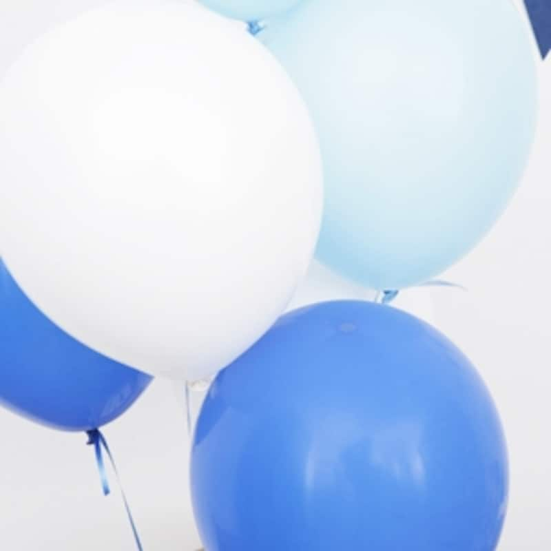 ブルー系は、白、水色、青の3色