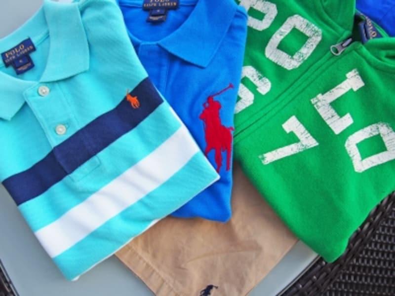 メイシーズのセールで合計110ドルほど。ビッグポニーのポロシャツ39.50ドルがセールで27.65ドル。割引クーポンでさらに10%OFFに!