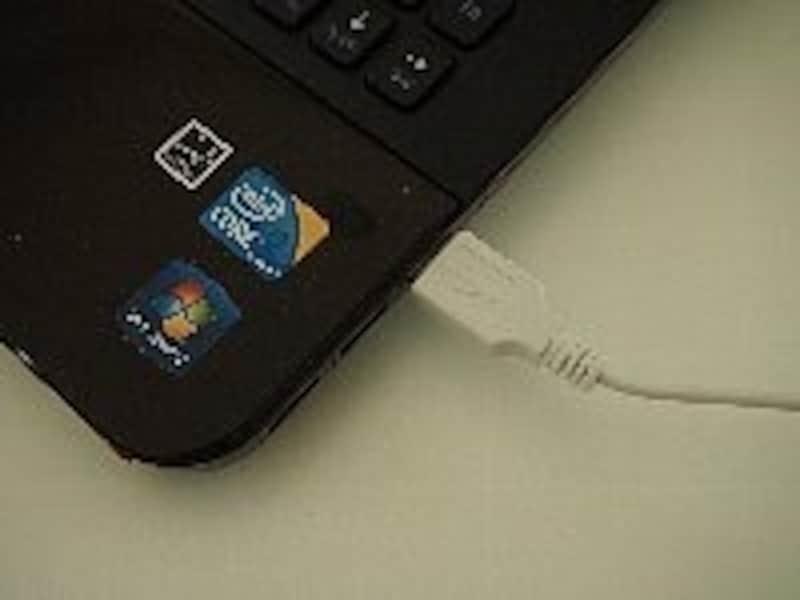 USBでパソコン接続もOK