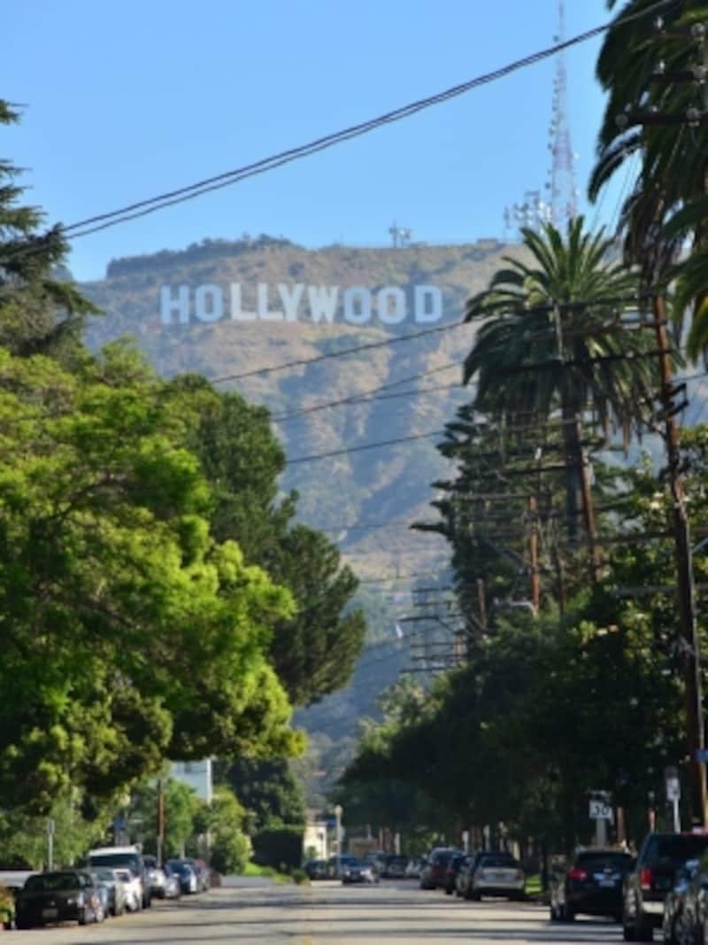 ハリウッドサインを近くで見るならビーチウッド