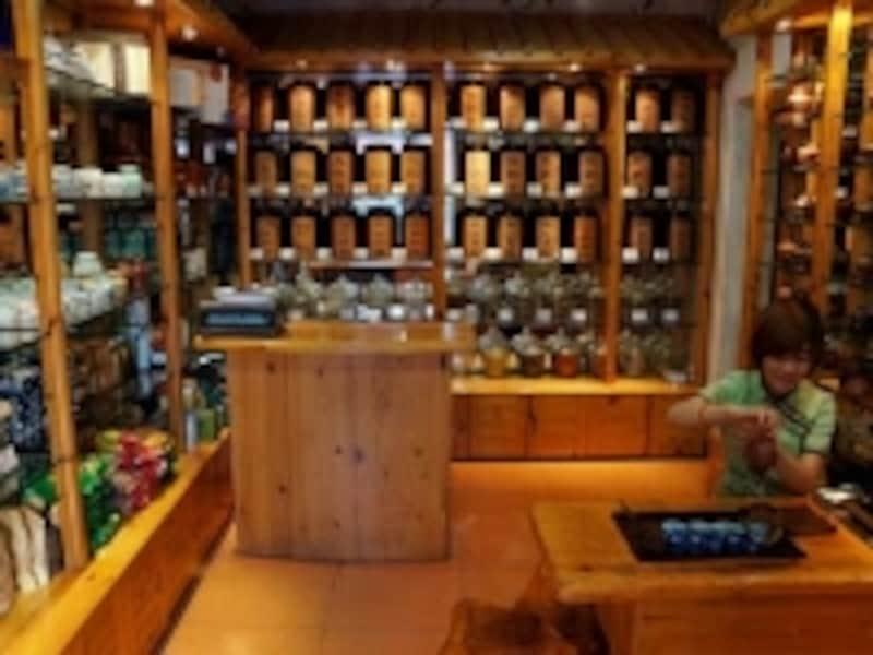 北京「武夷山茶荘」