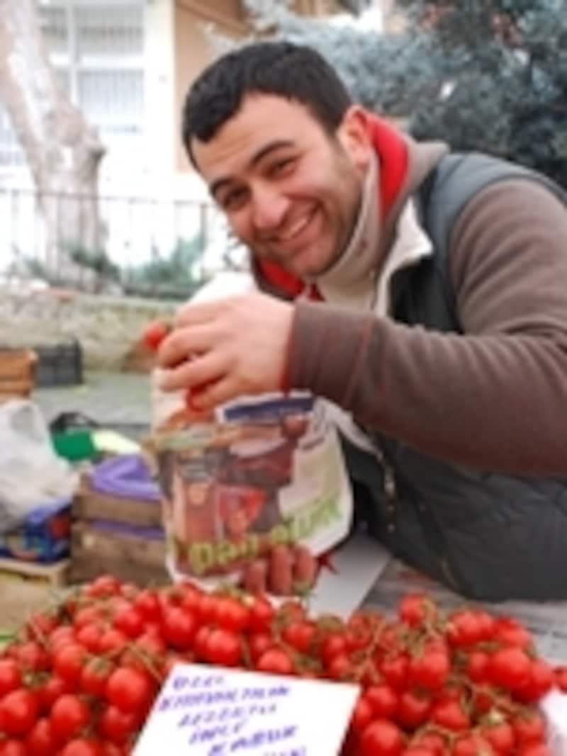 市場のトルコ人