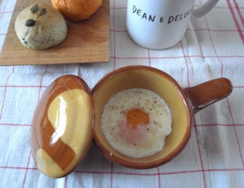 朝食にほんのり華やぎが!