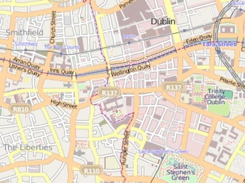 ダブリンマップ