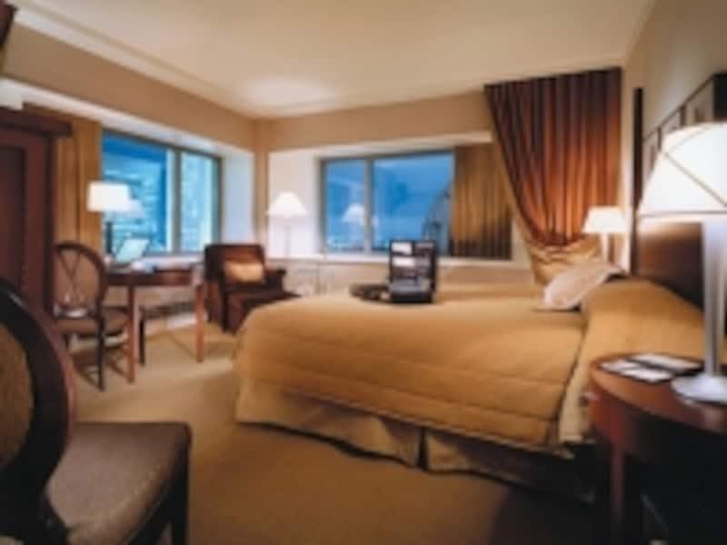 フェアモント系列のホテルは、ベッド1台の部屋が多数(C)FairmontHotelsandResorts