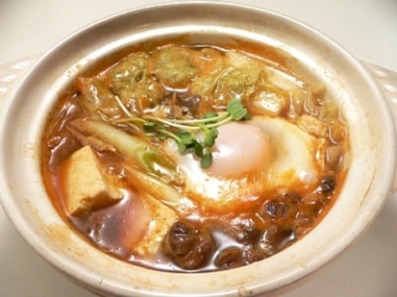 缶詰でつくる赤貝鍋