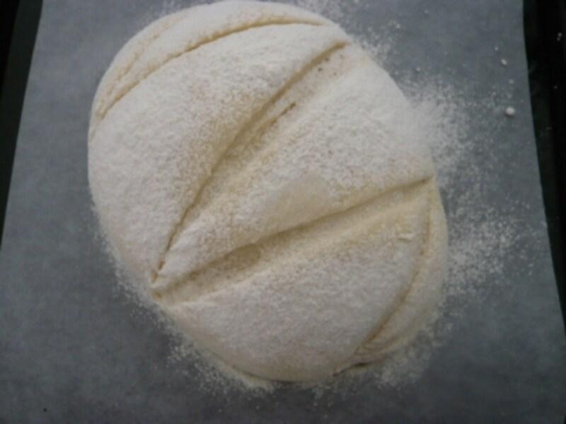1斤分の食パン生地で作るundefinedミルクハース風