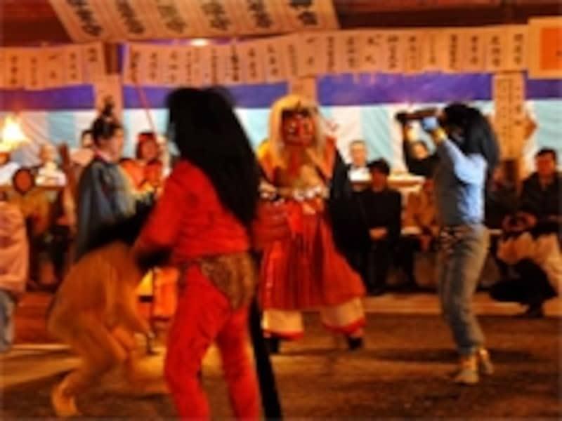 吉田神社節分祭