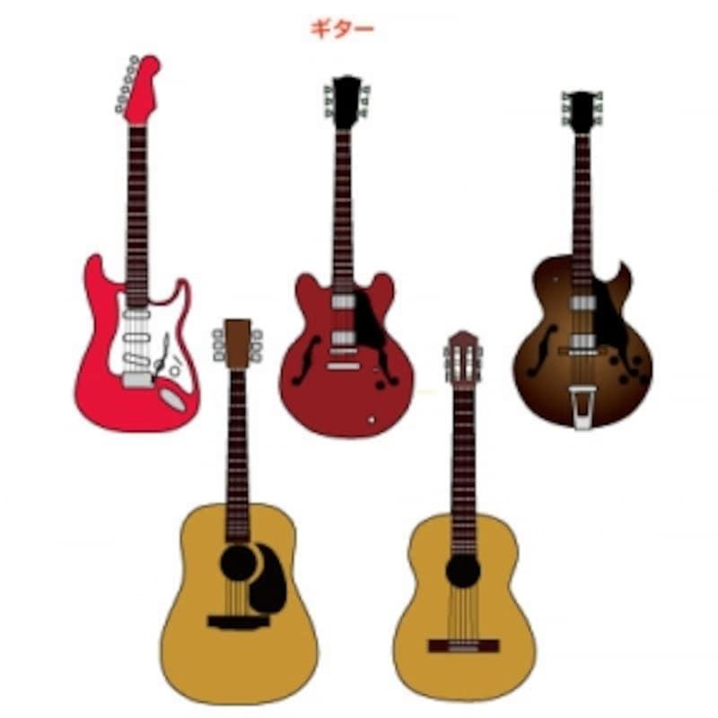 いろいろなギター