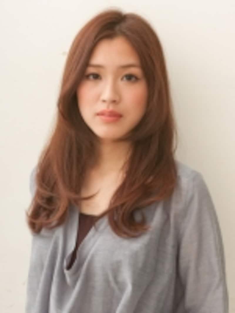 編みこみなので前髪が短かい方でもOK