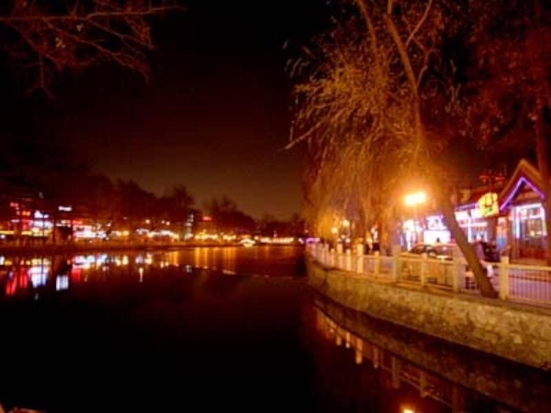 北京・后海「夜景」