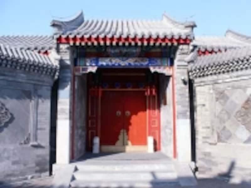 北京・后海「四合院」