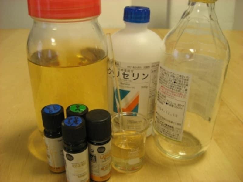 市販の「お酢」にグリセリンを混ぜるだけで柔軟剤の出来上がり!