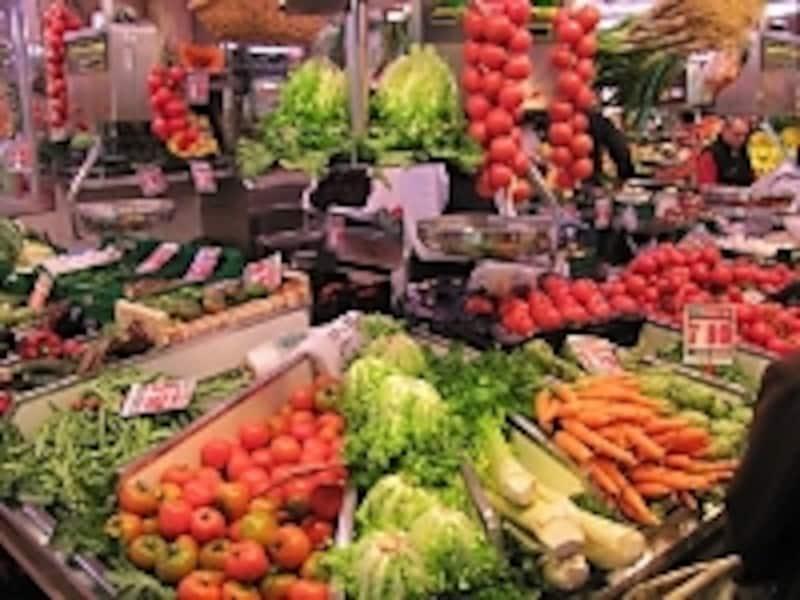 野菜、果物、全粒穀物、豆類は善玉糖質食品です(c)KAWAIKatsuyuki