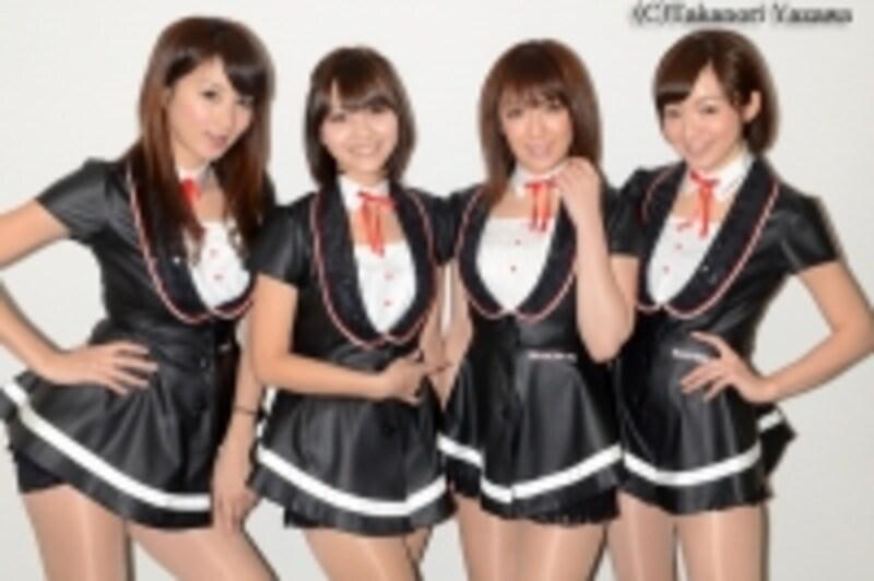 東京オートサロンイメージガール「A-CLASS」
