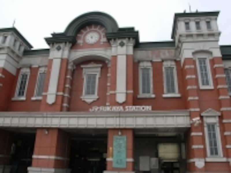 深谷駅正面