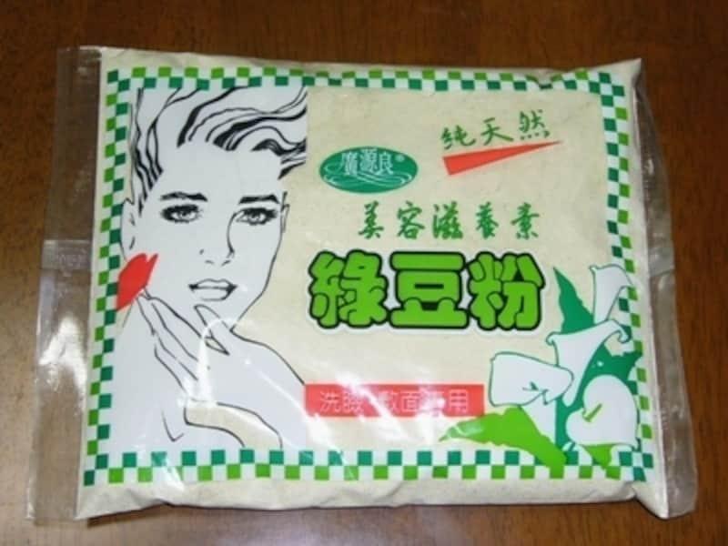 緑豆粉のパック