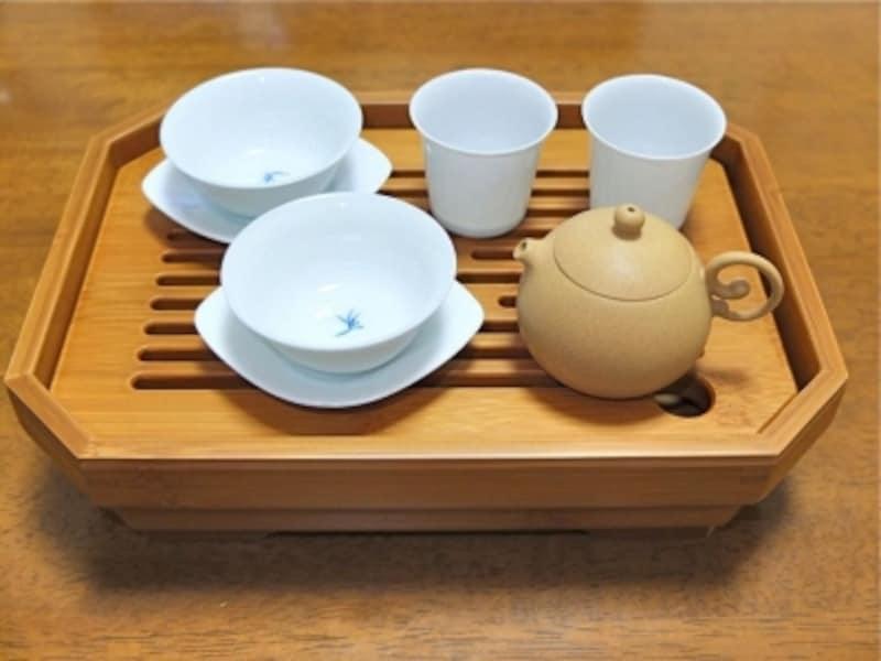 大禾竹芸工房の茶盤