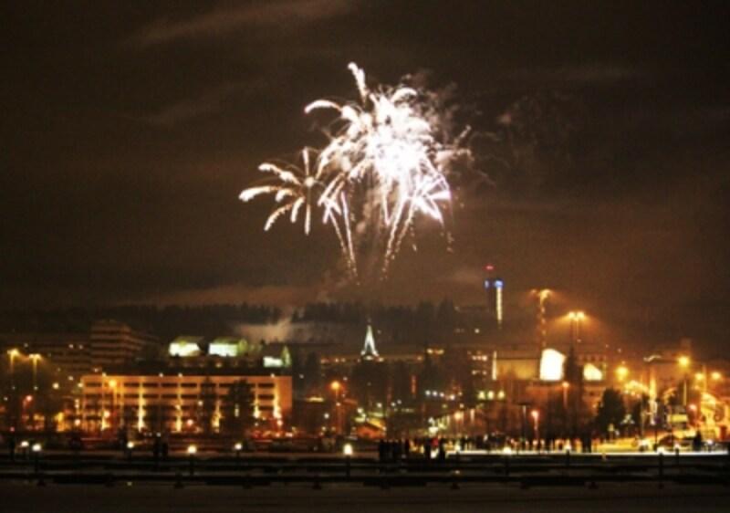 フィンランドの新年