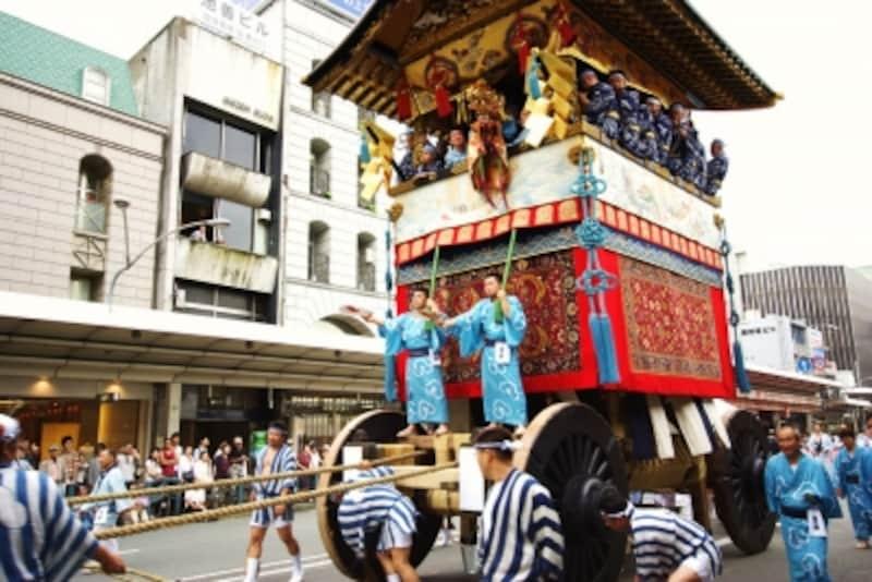 祇園祭の圧巻はやはり17日の山鉾巡行