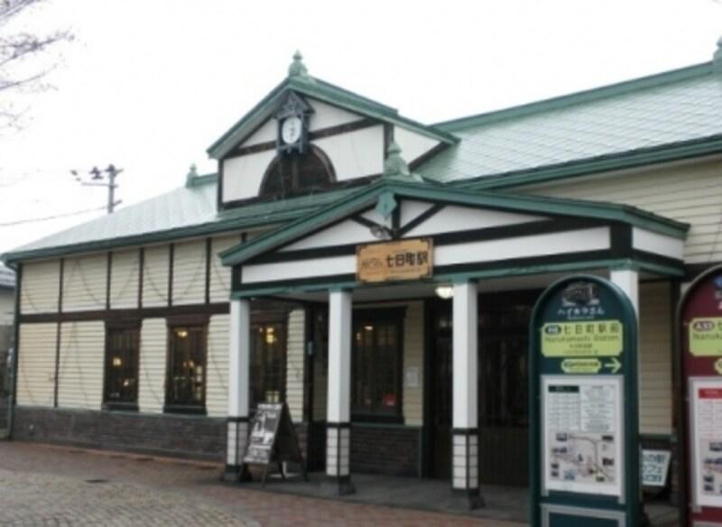 町歩きの起点となる「七日町駅」