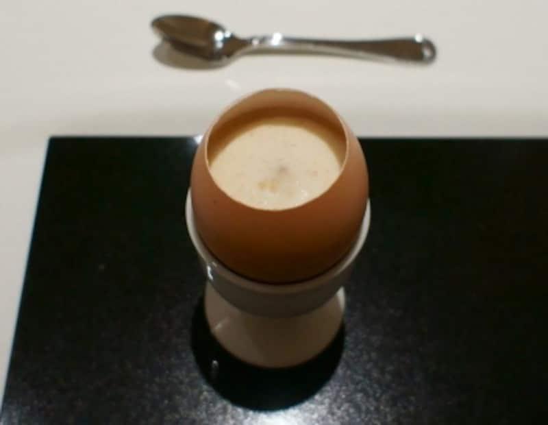 半熟卵のスペシャリテ