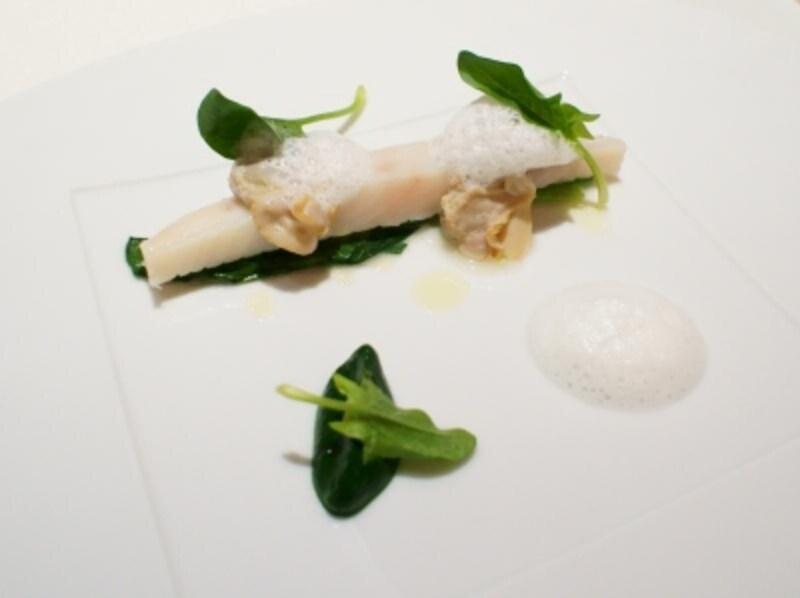 自然とミネラルだけで味を整えた的鯛と蛤
