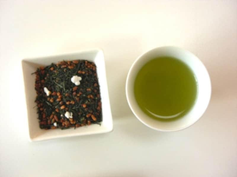 中村藤吉かぶせ玄米茶undefined茶葉