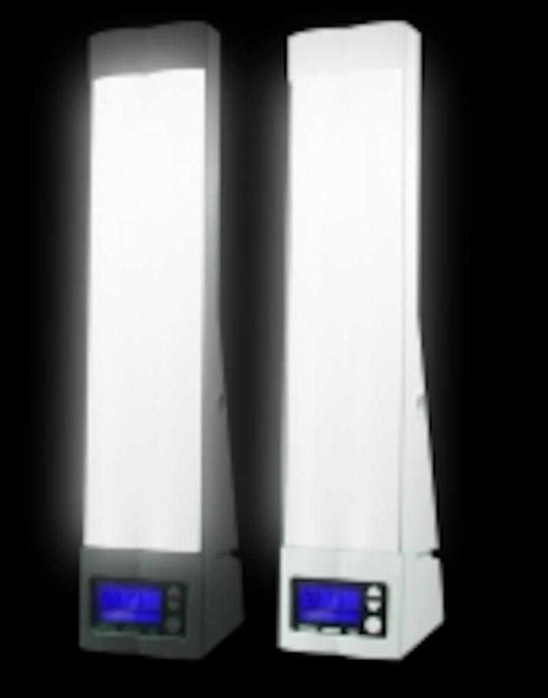 「ブライトアップ・クロック」ソーラートーン・ジャパン株式会社