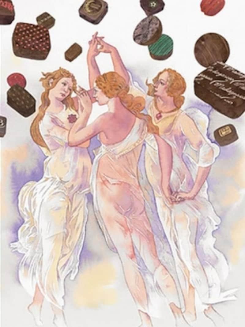 「サロン・デュ・ショコラ2013」のテーマは「ルネサンス(知の再生)」