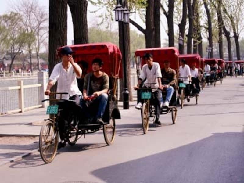 北京・后海「人力車」