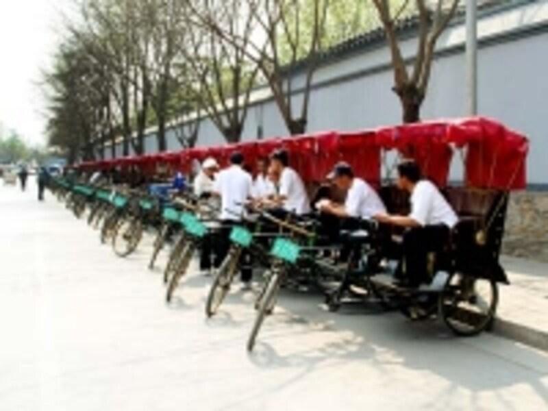 北京・后海「人力車(三輪車)」