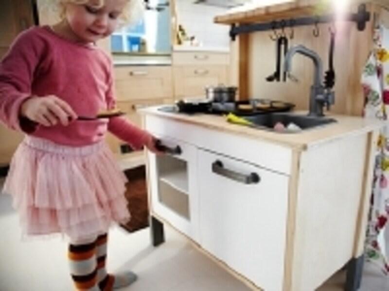 リビングやキッチンにもマッチするデザインが魅力