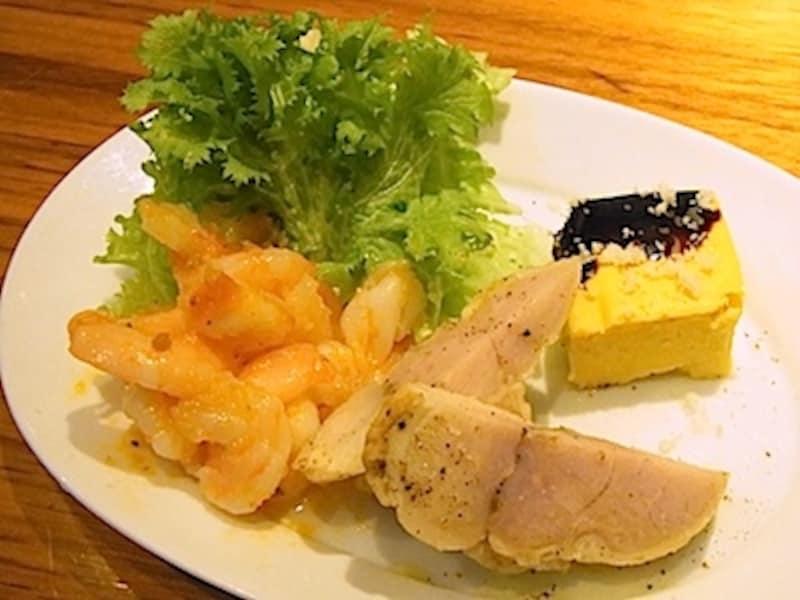 ロマーナコースundefined1200円の前菜盛り合わせ