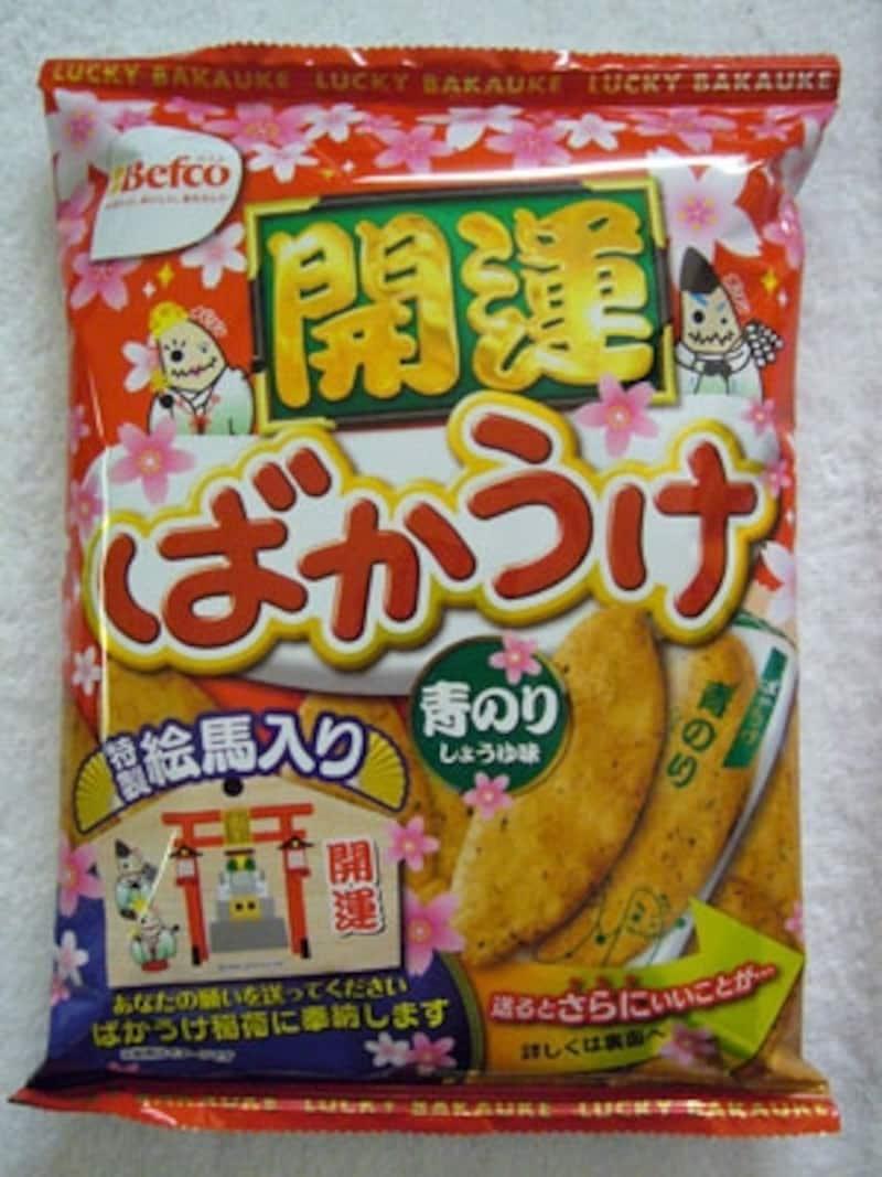 ベフコ栗山米菓開運ばかうけ